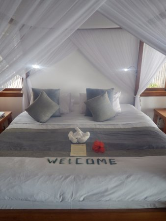 Siladen Resort & Spa: A romantic room in a romantic setting