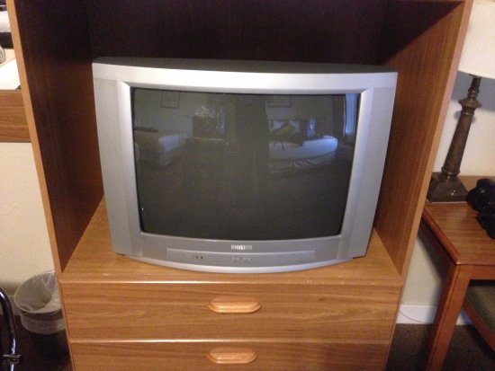 Inca Inn: Funky old TV