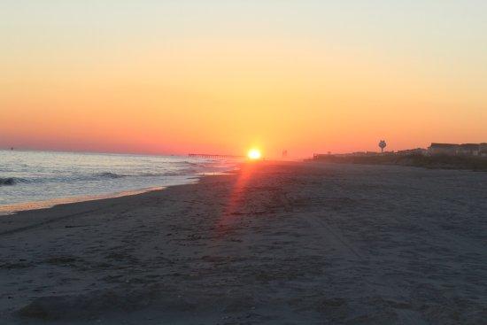 Ocean Isle Beach, NC: Evening on the beach