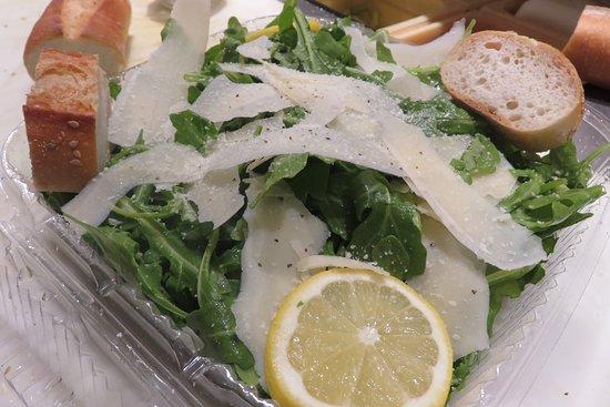 Lambertville, NJ: arugula salad