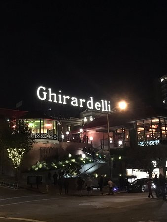 The Original Ghirardelli Chocolate Manufactory: You can't miss it!