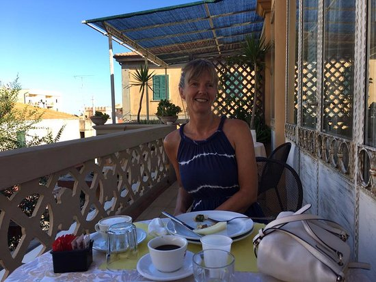 Hotel Villa Antica : Breakfast on the balcony