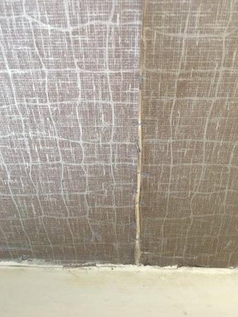 Ною-Касл, Делавер: Wallpaper is peeling