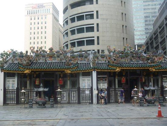 Raffles Place, Singapur: 寺院正面