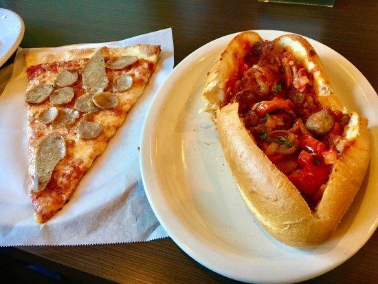 Queen Creek, AZ: Slice of Sausage and Hero Sandwich. Terrific.