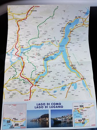 Cima, Italia: The map. This Hotel is Located in PORLEZZA