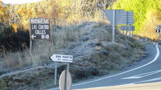 San Martin del Pimpollar, Spain: indicaciones al Hostal