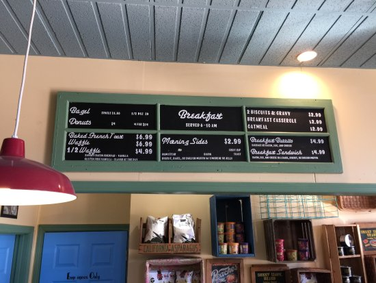 Leavenworth, KS: Breakfast menu