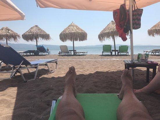 Σκάλα Καλλονής, Ελλάδα: the beach