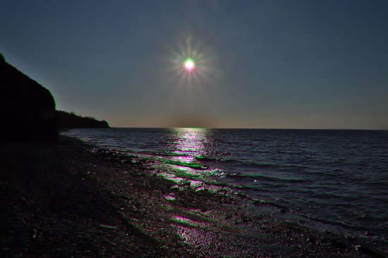 Arisaig Provincial Park : The sun goes lower and lower