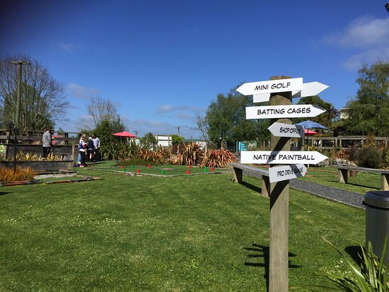 Otorohanga, New Zealand: Balls of Fun For Everyone!