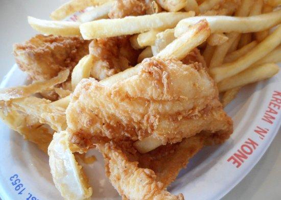 West Dennis, MA: Fried Haddock