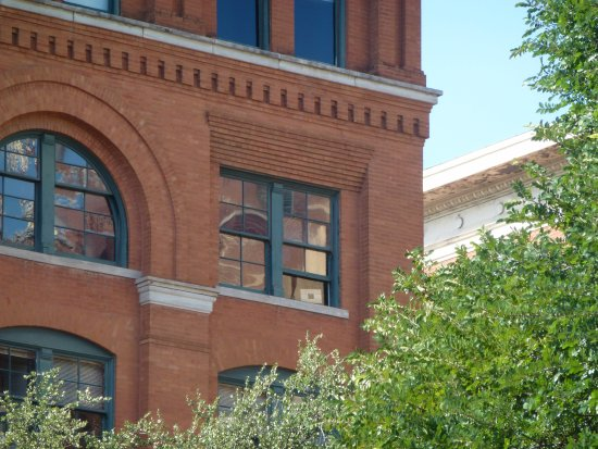 window of the school book depository