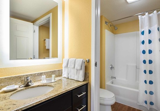 Two Bedroom Suite Bathroom Picture Of Towneplace Suites Los Angeles Lax Manhattan Beach