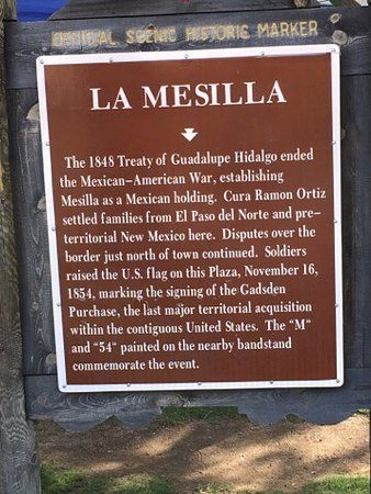 Mesilla, NM: Fun history here