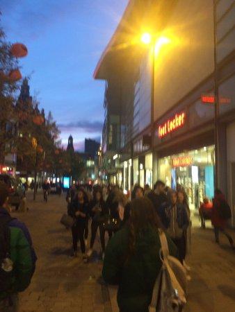 Market Street: Anoitecer