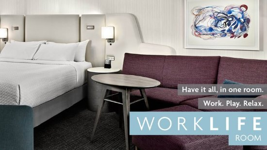 Crowne Plaza Cleveland at Playhouse Square: WorkLife room