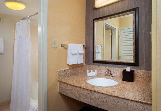 Landover, Μέριλαντ: Guest Bathroom Vanity