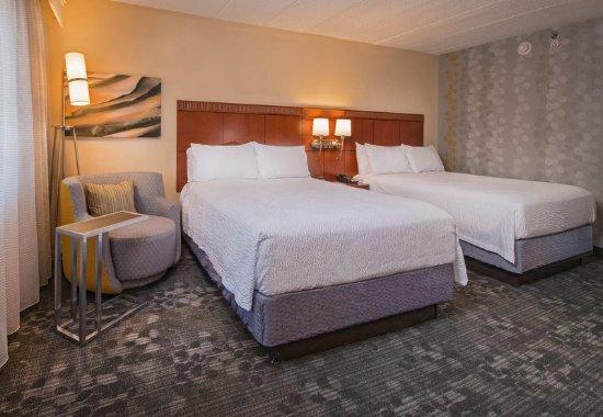 Landover, Μέριλαντ: Double/Double Guest Room