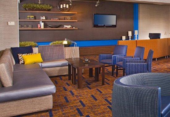 Basking Ridge, Νιού Τζέρσεϊ: Lobby Sitting Area