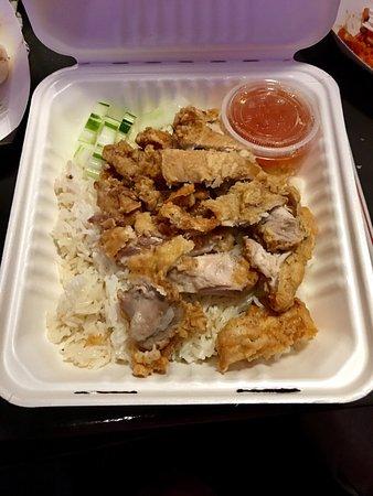 Fried Chicken Picture Of Hi Thai Food Truck Wailuku Tripadvisor