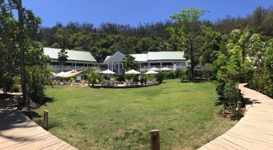 Malolo Island Resort : Main part of the resort
