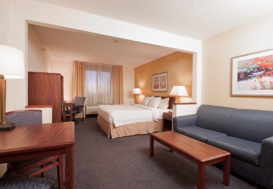 Liverpool, Estado de Nueva York: Executive King Guest Room Seating Area