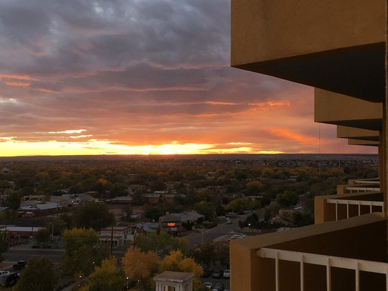 Hotel Albuquerque at Old Town: Balcony view, 10th floor