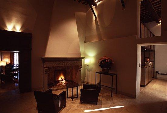 Castelnuovo Berardenga, Italy: Lobby Area