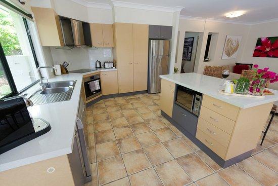 Villa Blue: fullu equipped kitchen