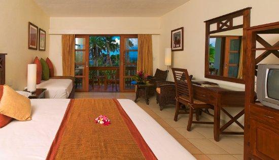 Naviti Resort: Standard room set up