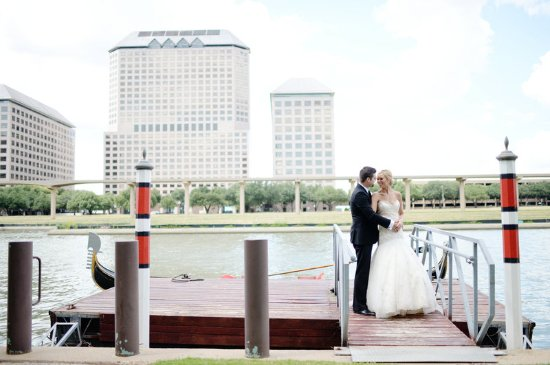 Irving, TX: Bride & Groom on the Lake
