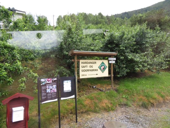 Ulvik Municipality, Norway: Hardanger Saft og Siderfabrikk