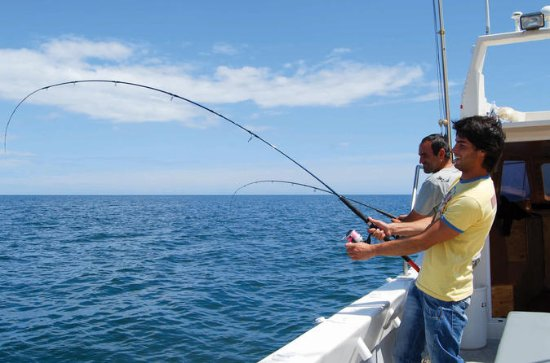 Small Group Reef Fishing in Albufeira