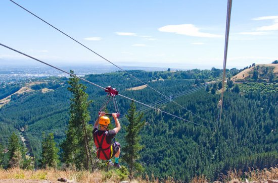 Christchurch Zipline Tour