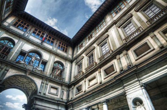 Visit the Uffizi Gallery in the...