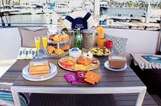 Champagne Brunch and Private Sailing
