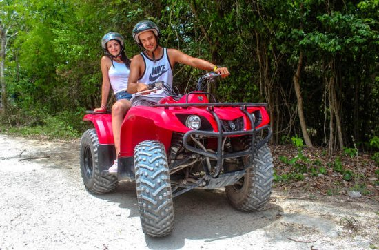 ATV OG CENOTE SWIM FRA PLAYA DEL...