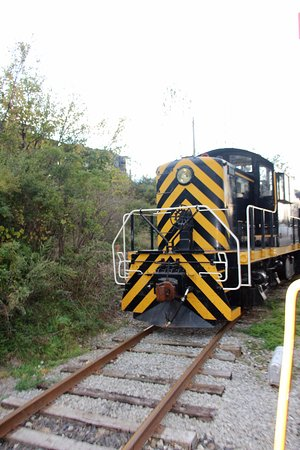 Rush, NY: Locomotive in the collection