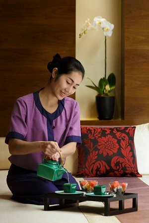 Banyan Tree Macau: Spa Refreshment Tea Set With Talent