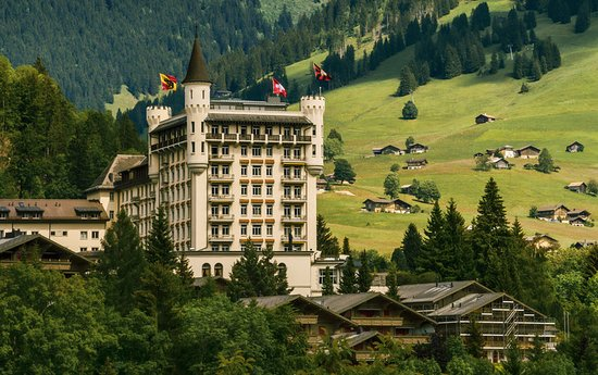 ‪‪Gstaad Palace Hotel‬: Summer Gstaad Palace‬