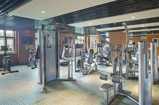 Mudanjiang, China: Fitness Center