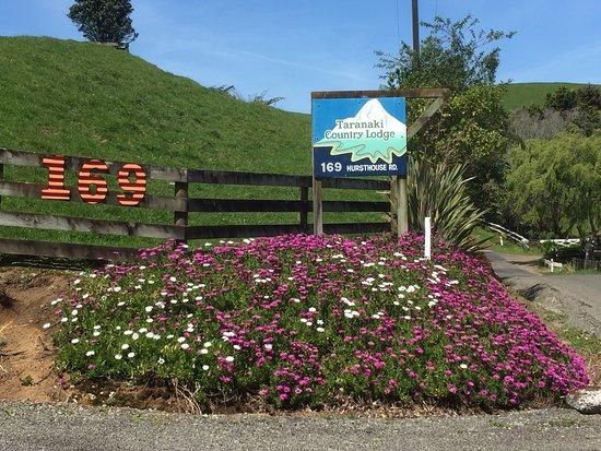 Taranaki Region, New Zealand: The entranceway