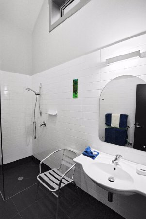 Taranaki Region, New Zealand: Tasman Room ensuite