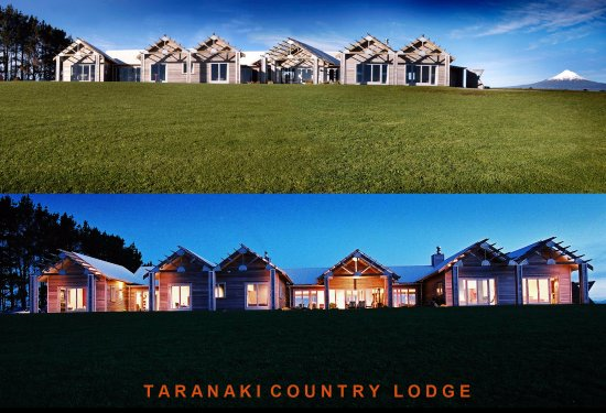Taranaki, Yeni Zelanda: The Lodge