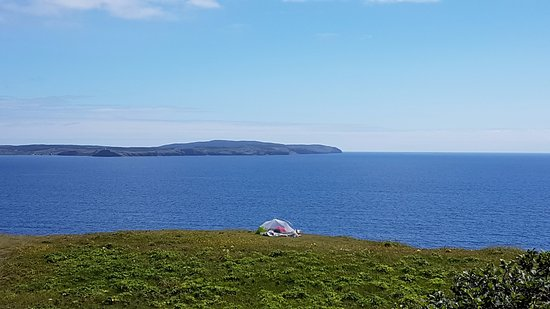 Port Rexton, Canada: Someone camping out here