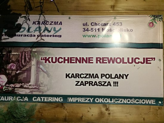 Koscielisko, Polonia: Karczma Polany