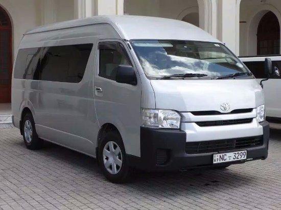 KDH high roof van belongs to