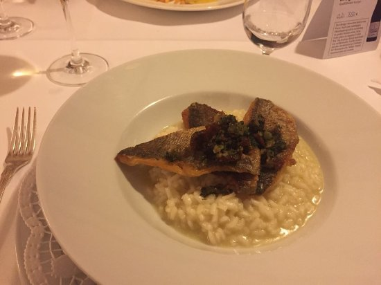 Bad Bellingen, Tyskland: Dorade und Risotto