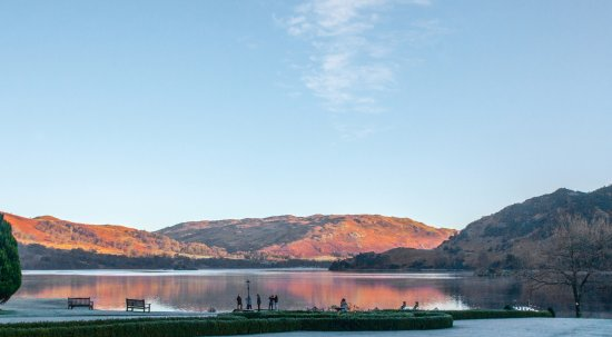 Glenridding, UK: A view from the lawns and the dining room
